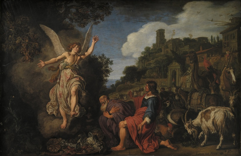 Pieter_Lastman_-_The_Angel_Raphael_Takes_Leave_of_Old_Tobit_and_his_Son_Tobias_-_Google_Art_Project